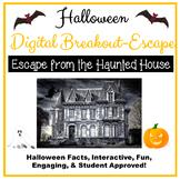 Halloween Digital Breakout Escape Room Digital Distance Learning