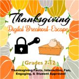 Thanksgiving Digital Breakout Escape Room Digital Distance