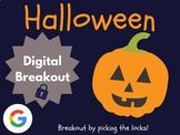 Halloween - Digital Breakout! (Escape Room, Scavenger Hunt)