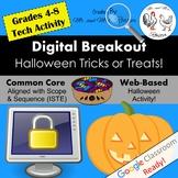 Halloween Digital Breakout - Halloween Escape Room - Halloween Breakout WEBSITE