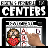 Halloween Digital ELA Centers for Google™ Classroom & Sees