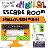 Halloween Math Digital Escape Room