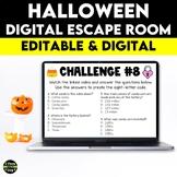 Halloween Digital Escape Room | Distance Learning