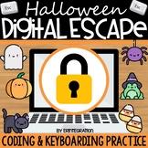 Halloween Digital Escape Room Keyboarding & Coding (Includ