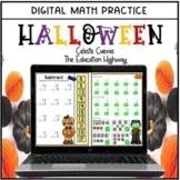 Halloween Digital Math Practice