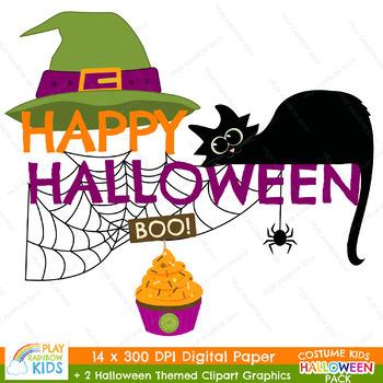 Halloween Digital Paper