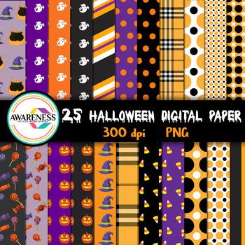 Halloween Digital Paper - Background