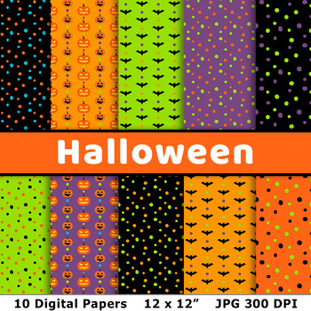 photograph about Printable Halloween Paper named Halloween Electronic Papers 2, Halloween History Behavior, Bats, Jack OLanterns