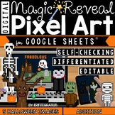 Halloween Digital Pixel Art Magic Reveal ADDITION