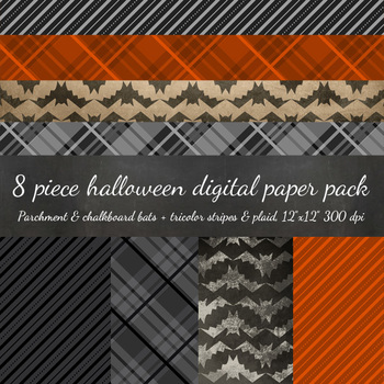 Digital Paper - Halloween