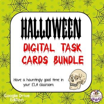 Halloween Digital Task Cards Bundle (Google Drive Edition)