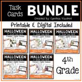 Halloween Math Place Value Digital Task Cards Bundle for Google Slides