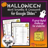 Halloween Digital Word Scramble & Crossword Puzzles for Go