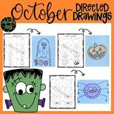 October/Halloween Directed Drawings