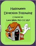 Halloween Direction Following