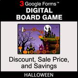 Halloween: Discount, Sale Price, Savings - Digital Board G