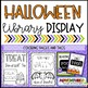 Halloween Display Signs and Bookmarks