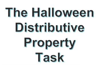 Halloween Distributive Task