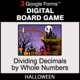 Halloween: Dividing Decimals by Whole Numbers - Digital Bo