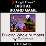 Halloween: Dividing Whole Numbers by Decimals - Digital Bo