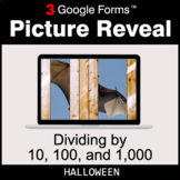 Halloween: Dividing by 10, 100, and 1,000 - Google Forms |