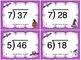 Halloween Division (2 Digit Divided by 1 Digit Numbers) Task Cards