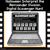 Division Interpreting the Remainder Review Digital Scaveng