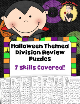 Halloween Division Review Puzzles