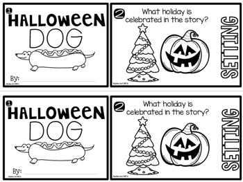 Halloween Dog Flip Book
