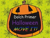 Halloween Dolch Primer List MOVE IT!