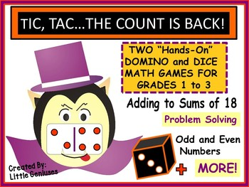 Halloween Addition Games for Primary Grades