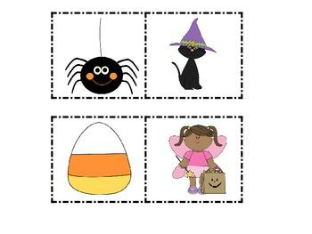 Halloween Dominoes
