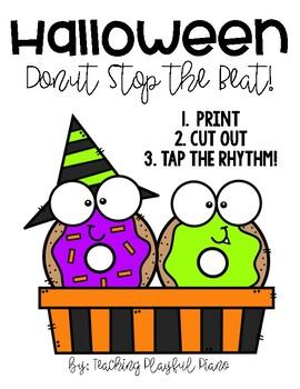 Halloween Donut Stop the Beat!