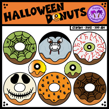 Halloween Donuts (Doughnuts)