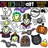 Halloween Doodles Clip Art (Oh Hey ELA Art)