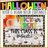 Halloween Door & Board Decor {Editable!}