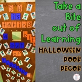 Halloween Door Decor Zombies EDITABLE