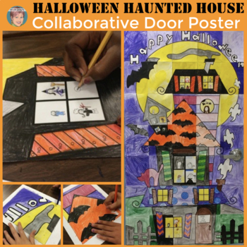 Halloween Activities - Collaboration Door Poster
