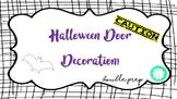 Halloween Door Decoration! {Caution! Fang-tastic Students