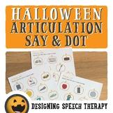 Halloween Dot Articulation