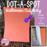 Halloween Dot a Spot Speech Therapy Pin Art Craft