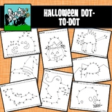 Dot to Dots 1 - 20 / 25 - HALLOWEEN HOLIDAY