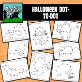 Dot to Dots 1 - 20 / 25 - HALLOWEEN HOLIDAY