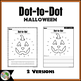 Halloween Dot-to-Dot / Connect the Dots