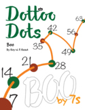 Halloween Dot to Dot page, Boo, Count by 7s