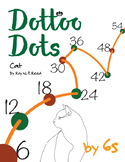Halloween Dot to Dot page, Cat, Count by 6s