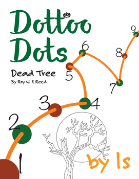 Halloween Dot to Dot page, Dead Tree, Count by 1s
