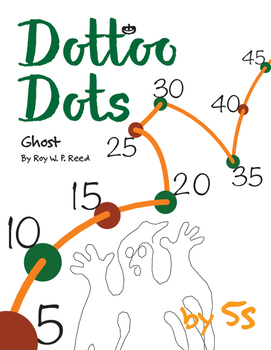 Halloween Dot to Dot page, Ghost, Count by 5s