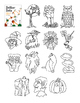 Halloween Dot to Dot page, Monster, Count by 4s