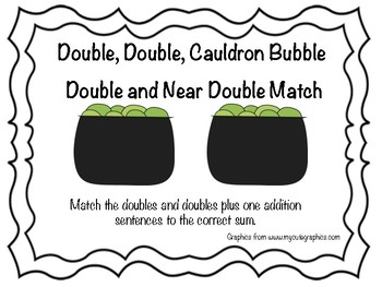 Halloween Double and Near Double Match